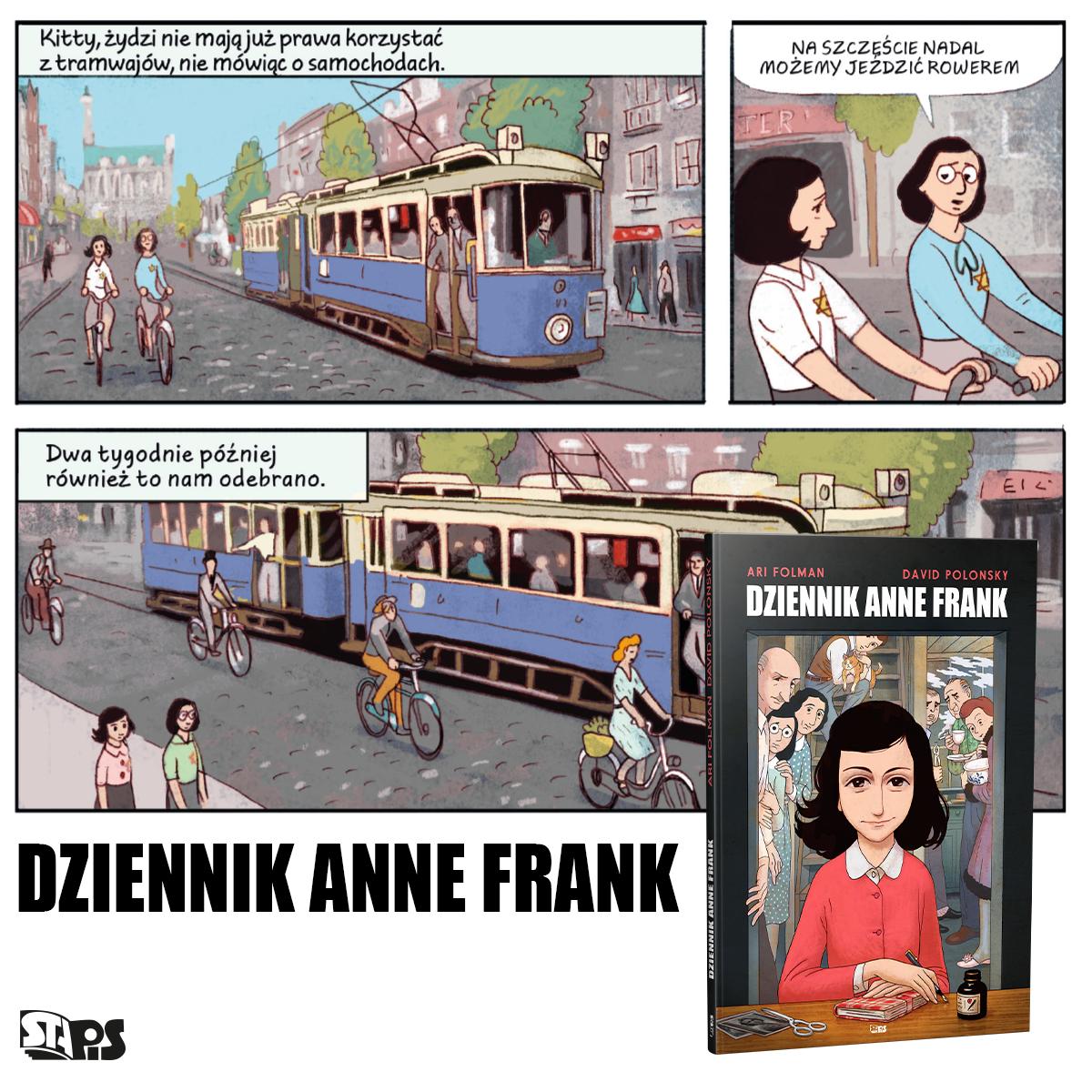 Dziennik Anne Frank komiks