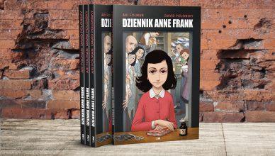 Ari Folman, David Polonsky, Dziennik Anne Frank, powieść graficzna