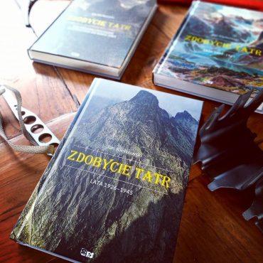 Zdobycie Tatr-okładki trzech tomów-książki górskie