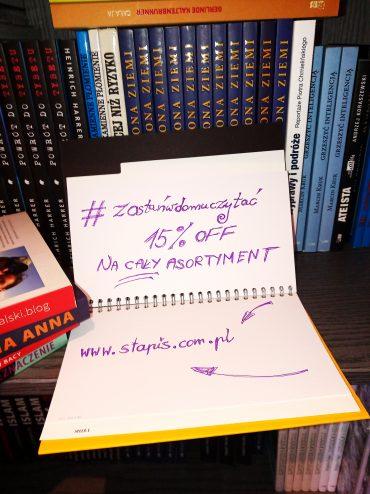 Promocja na książki-Oferta-15% rabatu na cały asortyment STAPIS
